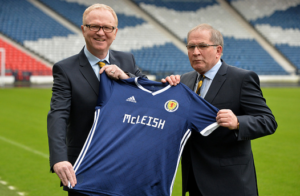 McLeish turns to fresh faces for Scotland's friendly against Costa Rica