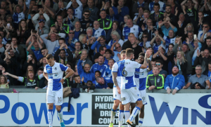 The last minute men - Bristol Rovers are English football's comeback kings