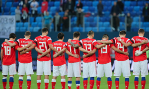 Russian show trial hitting World Cup fever
