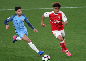 Jadon Sancho and Reiss Nelson – Breaking with tradition