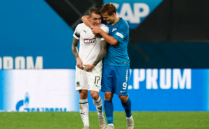 The violent end to the careers for two of Russian football's biggest stars
