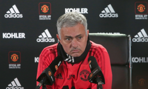 The Manchester derby could make or break Mourinho's season