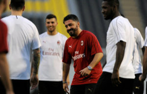 Pressure on Gattuso as Milan owners aim for Champions League return