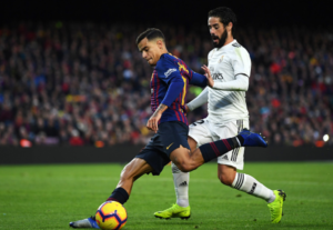 Philippe Coutinho and Isco - Failing to impress and frozen out