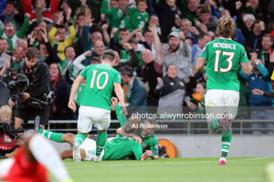 Gallery: Ireland and Switzerland share the spoils in Dublin