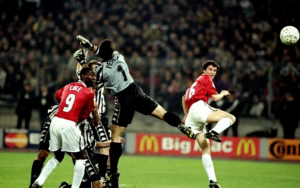 Best away performances by English sides in the Champions League - Juventus v Manchester United, 1999