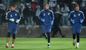 What's available to Lionel Scaloni in Argentina's goalkeeping rack?
