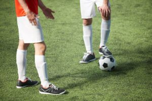 Is 5-a-side easier than 11-a-side football?